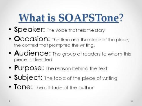 soapstone a strategy for writing and reading comprehension mr  soapstone understanding non fiction writing expository text 2