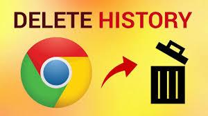 delete history erase